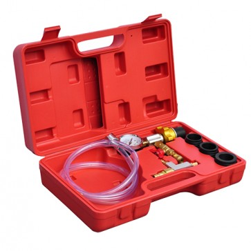 Cooling system vacuum refill kit