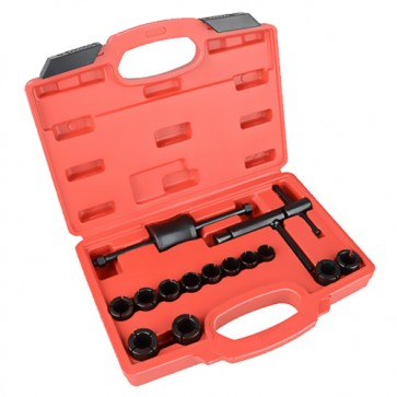 Motorcycle brake caliper piston removal tool set
