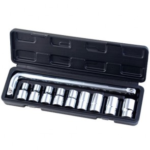 "Different pieces of 1/2""Dr. socket wrench set 160424"