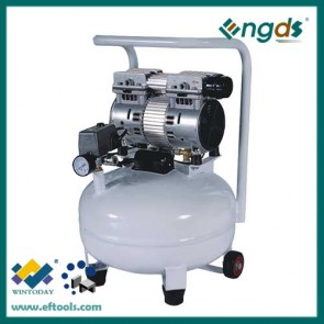 3/4HP 0.55KW 24L portable silent air compressor 184036
