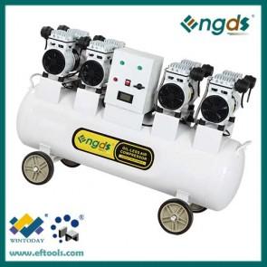 3KW 4HP 110L 4 Cylinder industrial oil free compresssor 184051