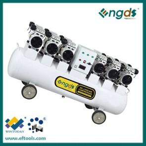Hot selling 6hp 140l dental oil free air compressor 184052