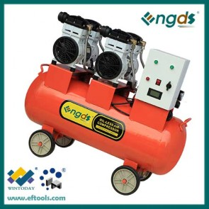 3HP Portable 2 Cylinder ship ac oil free compressor 184053