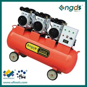 4.5HP 150L cheap price Portable 3 Cylinder dental oil free compressor 184057