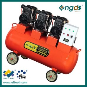 6hp piston cheap 3 cylinder oil free silent compressor 184059