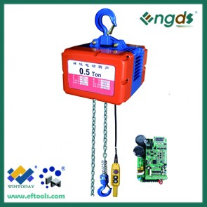 380V and 220V high quality 1 ton chain motor hoist 200036