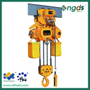 China manufacturing 1/2 ton electric chain i beam hoist 200079