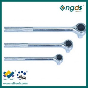 45T socket ratcheting wrench with knurling handle