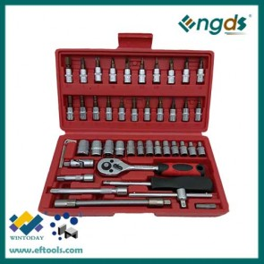 46pcs box socket set combination socket set bits set