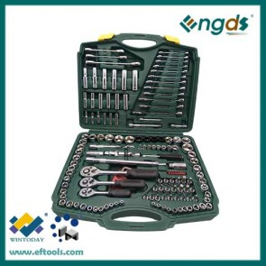 "150pcs 1/4"" 3/8"" 1/2"" Sockets Set Socket Wrench High Quality Hand Tools"