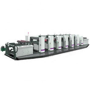 unit-typed flexographic press