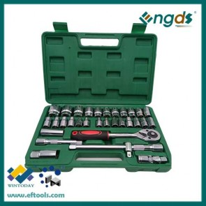 32pcs ratchet socket set ratchet spanner set wrench set