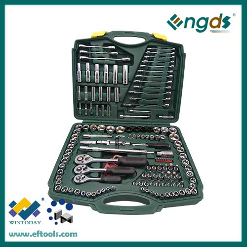 150pcs Sockets Set High Quality Hand Tool(Carbon steel)