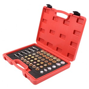 114pcs oil drain sapark plug helicoil thread repair kit 138087