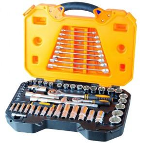 "58pcs or 82pcs 1/2""&1/4""Dr. Hand Tool Set 160432"