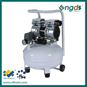 3/4HP 0.55KW 19L oil free dental air compressor 184034