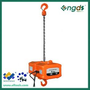 380V hanging 1 ton portable crane electric hoist 200091