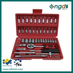 46pcs box socket set combination socket set bits set