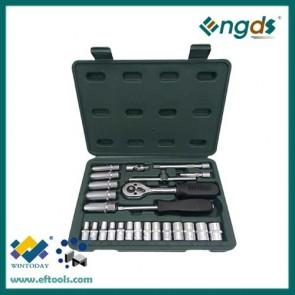 25pcs chrome vanadium socket set wrench set