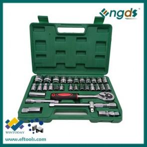 32pcs ratchet socket set ratchet spanner set wrench set