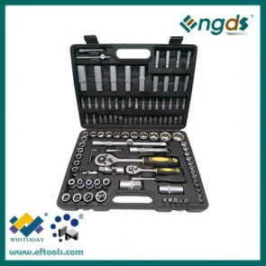 108pcs socket set spanner set in tool box