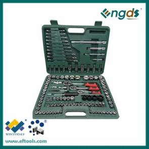 "120pcs 1/4"" 3/8"" 1/2"" Combination wrench set socket tool set"