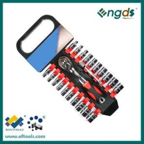 22pcs socket set ratchet spanner set