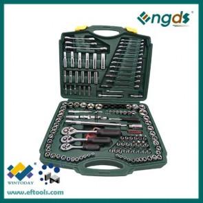 "150pcs 1/4"" 3/8"" 1/2"" Sockets Set Socket Wrench High Quality Hand Tools"