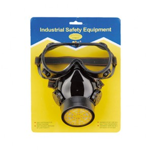 Single-Tank Chemical Mask With Goggle