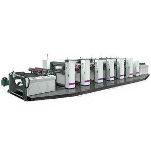 unit-typed flexographic press