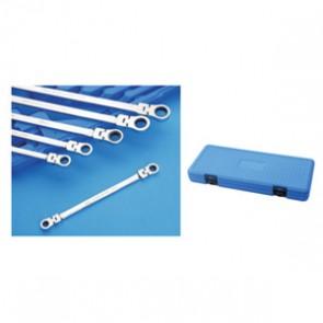 Two Heads Flexible Gear Wrench Set 230285