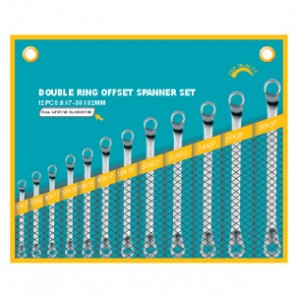 European Type Double Ring(75angle) Wrench Set 230314